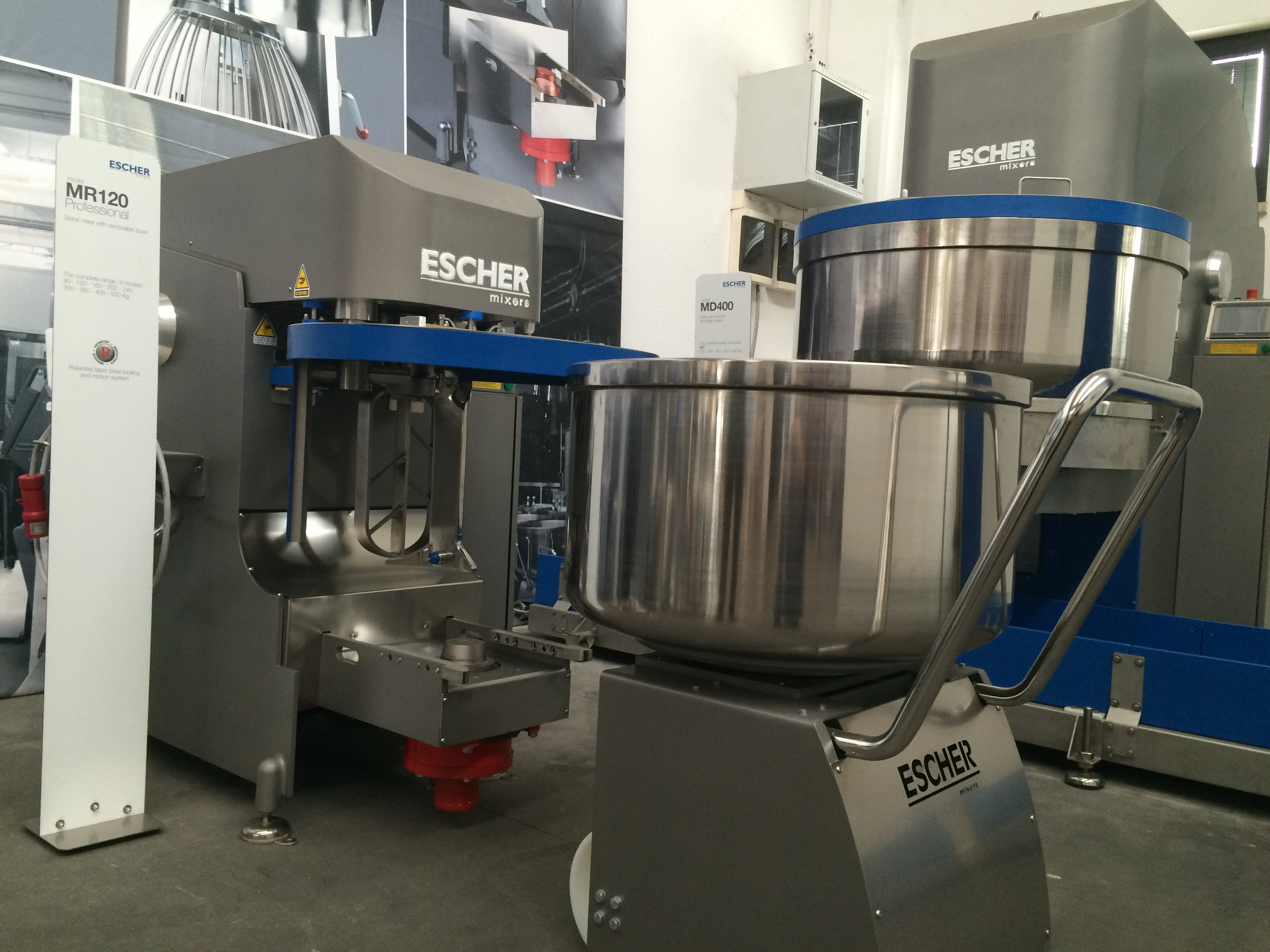 Escher mixers - the most stable quality in mixing all over the world